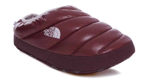 The North Face NSE Tent Mule III Shoes Women Shiny Deep Garnet Red/Cloud Grey
